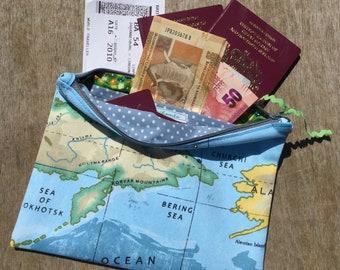 Travel wallet/ purse