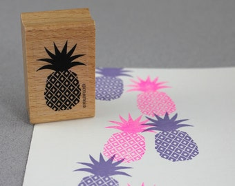 Stamp Pineapple - Ananas