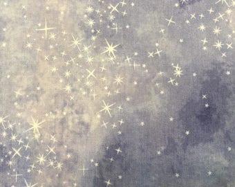 Sugar Plum by Mckenna Ryan for Robert Kaufman Fabrics Stars on Periwinkle