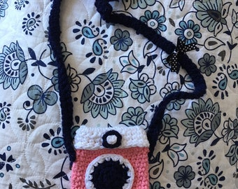 All handmade camera purse