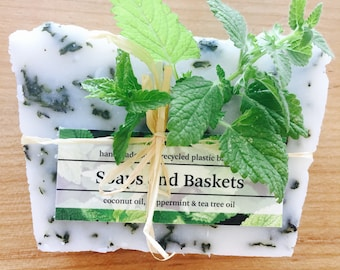 Tea-tree Peppermint soap Hair and Body.