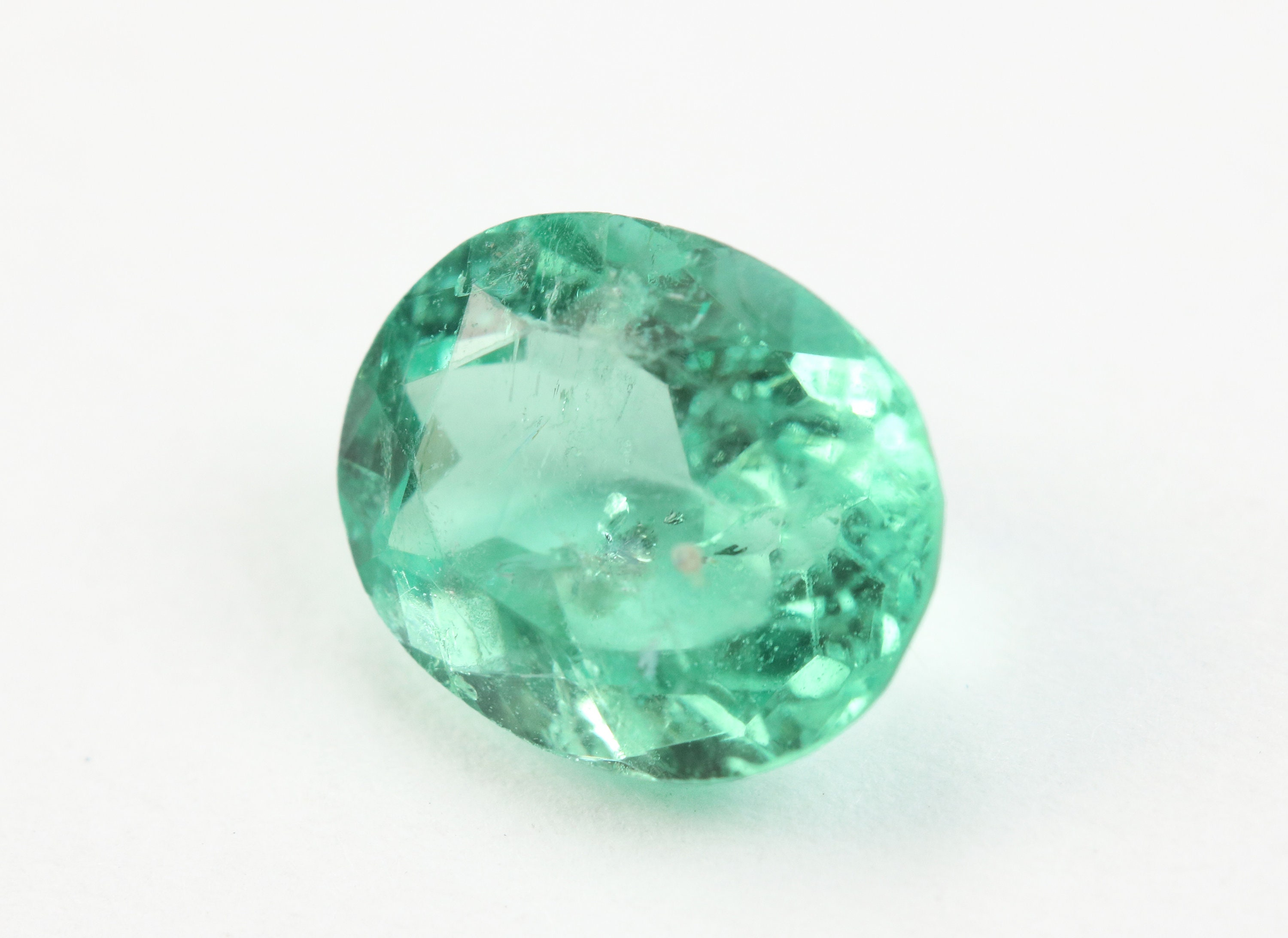 genuine il listing colombian emerald fullxfull mm x oval