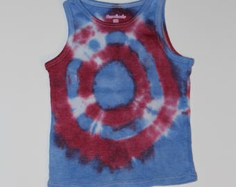 18 month tie dyed tank