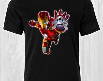 Iron Man Sitroen logo / CAR 333 - Cars Man T-shirt