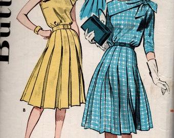 1960s VINTAGE BUTTERICK PATTERN. Dress. 9650 Size 14 Bust 34