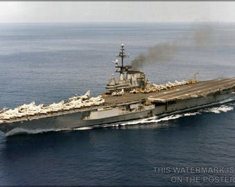 Poster, Many Sizes Available; Uss George H.W. Bush (Cvn-77)
