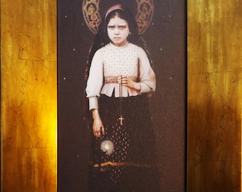 Frame of Stª Jacinta Marto original from Fatima