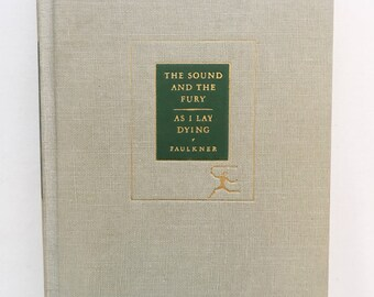 As I Lay Dying by William Faulkner Vintage Hardcover Book