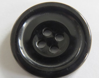 Button * black with four holes