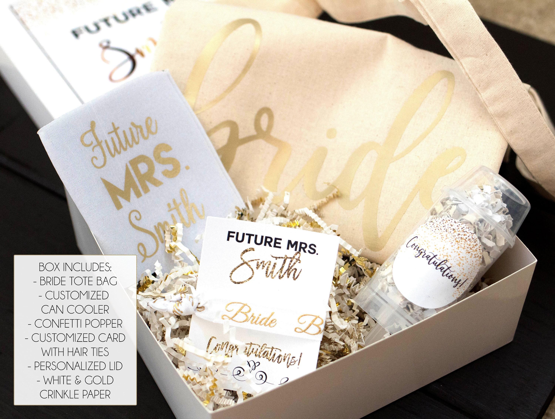 Engagement Box Future Mrs Box Engagement Gift Bride to