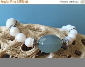 Mothers Day Sale Beaded Stretch Bracelet, Shell Bracelet, Beach Bracelet, Beach Jewelry, Boho Bracelet, Stretch Bracelet, Stacking Bracelet,
