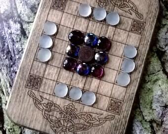 Hnefatafl viking board game , medieval game, reenactment