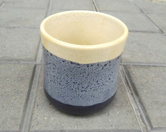 Handmade Wheel thrown Stoneware Vase -