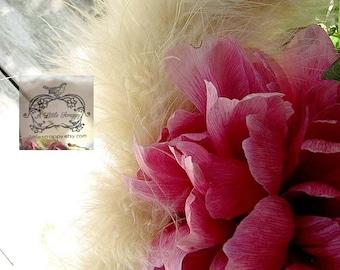 Honey Beige Tan Marabou Boa Feathers