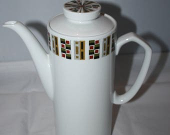 Alfred Meakin Random Glo-White Ironstone Coffee Pot