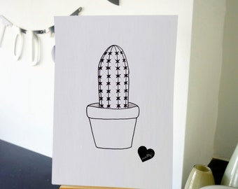 Cactus drawing - number 4 out of 4