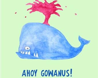 Ahoy Gowanus! Brooklyn Print