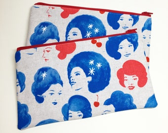 Pencil Case Zip Pouch - Dottie's Friends