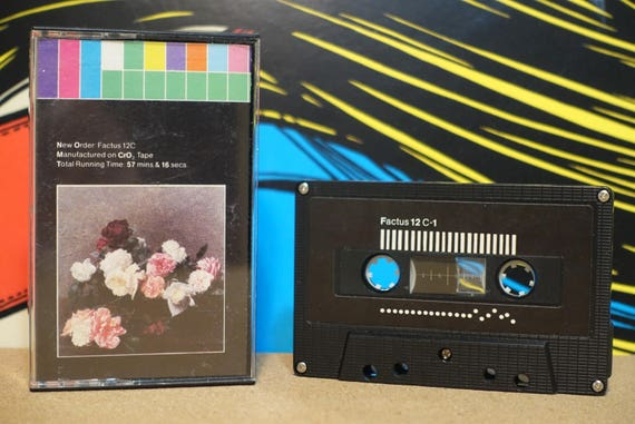 Power, Corruption & Lies (RARE Early US Pressing) by New Order Vintage Cassette Tape