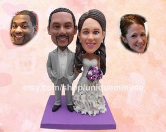Unique Wedding Gift for Couple, custom bobblehead doll, funny bobblehead doll, Wedding, Personalized bobblehead doll