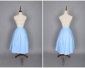 Paige Skirt in Solid Cinderella Blue