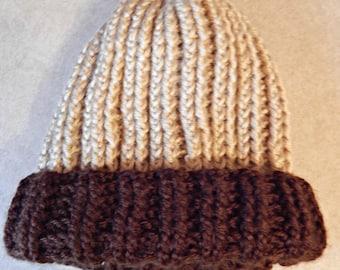 Crochet Knit Style Hat