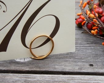 Elegant Place Card Holders For Weddings, Thanksgiving Tabletop Decor