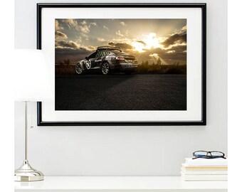 Tesla Model X P85D Rear Angle, automotive photography, automotive prints, car photography, car prints, american car, @richardlephoto