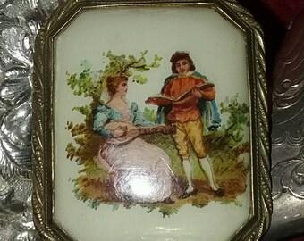 Victorian Edwardian Booch, Lovers with Mandolin