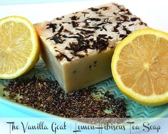 Lemon Hibiscus Tea Soap Bar