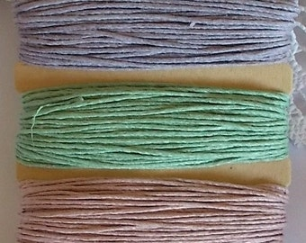 Vintage Hemp Cord for Scrapbooking, card making, mixed media