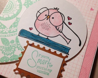 Valentine's Day Card, Be My Valentine, Happy Valentine's Day Card, Be Mine