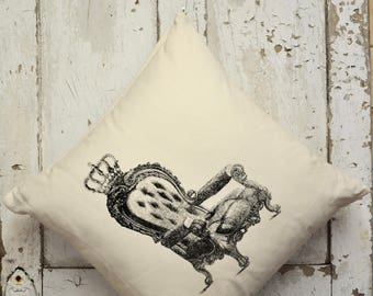 """Cushion Cover -  """"The Royal Collection"""" - Chair"""
