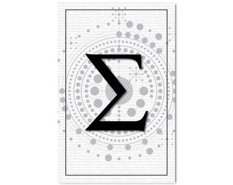 Sigma, Math Poster