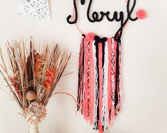 Custom Dreamcatcher Dreamcatcher name / colors / kids Dreamcatcher