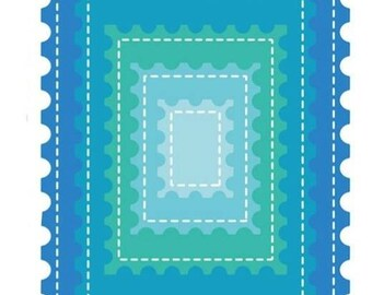 Scrapbooking cutting frames borders stamps lot of 5 pieces
