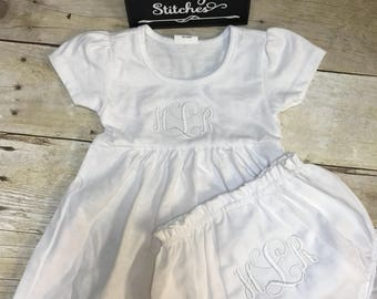 Christening outfit,baby girl outfit, white baby dress,  outfit to wear to christening, outfit to wear on christening day, infant  dress set