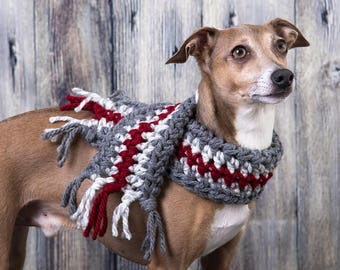 Scarf for dog, neck warmer for dog
