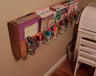 Children's Craft Organizer