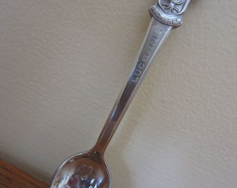 Rolex Lucerne Bucherer of Switzerland collectors spoon.