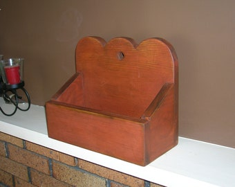 Primitive Candle Box Amish Hand Made Primitive Decor Shaker