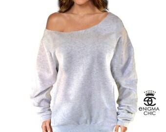 SALE Off the Shoulder Sweatshirt by enigma chic