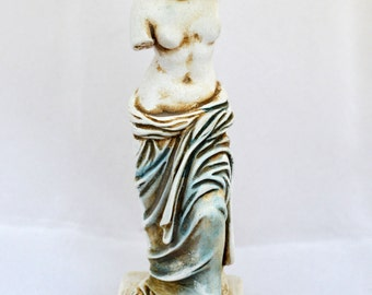 Aphrodite Ancient Greek Goddess of love and beauty sculpture statue