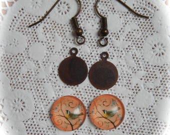 Kit for making earrings