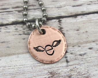 Sister Of An Angel Necklace Personalized Memorial Remembrance