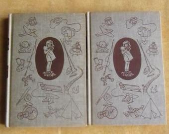 Vintage Honey Bunch - Her First Little Garden, Book 5 1924, Her First Trip to Reindeer Farm, Last Book 1953, Thorndyke, Grosset & Dunlap