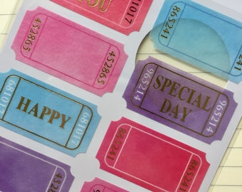sticker, thank you, special day, tag, lavel