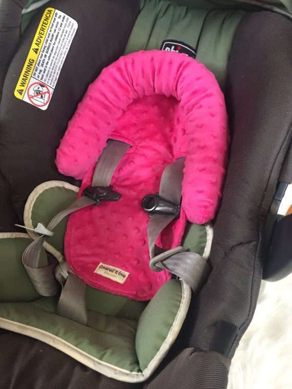 carseat headrest YOU pick color , car seat head rest , car seat head support , head support , neck support ,