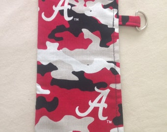 "Alabama ""Crimson Tide"" Sunglass/Eyeglass Case"