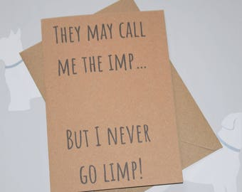 Call me the Imp, Tyrion Lannister, Game of Thrones card, Game of Thrones, GOT, GOT gift, Game of Thrones fan, Game of Thrones gift